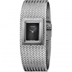 Calvin Klein Woman Only Time Mesh Collection Black