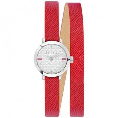 Furla Watch Woman Only Time Vittoria Collection Red