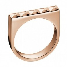 Calvin Klein Women's Ring Edge Collection Rosegold