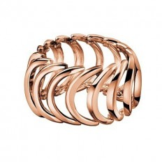 Calvin Klein Women's Ring Body Collection Rosegold