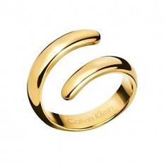 Calvin Klein Women's Ring Embrace Collection Gold