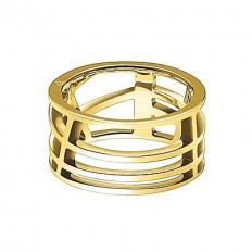 Calvin Klein Women's Ring Draw Collection Gold