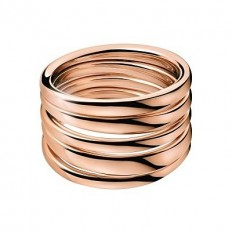 Calvin Klein Women's Ring Sumptuous Collection Rosegold
