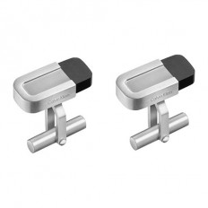 Calvin Klein Men's Cufflinks Magnet Collection Black