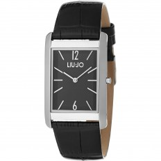 Liu Jo Unisex Watch Only Time Luxury Zen Collection Rectangular Black