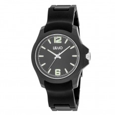 Liu Jo Watch Unisex Only Time Man Watch Collection Black/Black