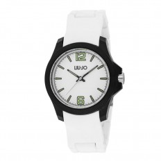 Liu Jo Watch Unisex Only Time Man Watch Collection White/White