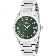 Liu Jo Watch Woman Only Time Romana Collection Silver/Green