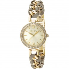 Liu Jo Women Watch Only Time Naira Collection Gold/Grey