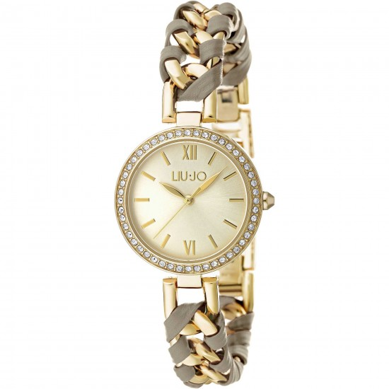 Liu Jo Women Watch Only Time Naira Collection Gold/Grey TLJ1112