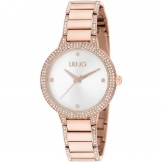 Liu Jo Watch Woman Only Time Brilliant Collection Rosegold