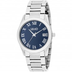 Liu Jo Watch Woman Only Time Romana Collection Silver/Blue