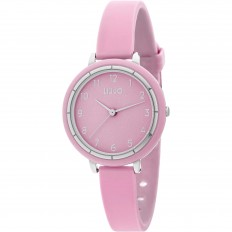 Liu Jo Women Watch Only Time Luxury Sporty Collection Pink