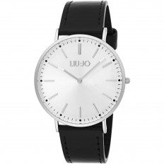 Liu Jo Men Watch Only Time Luxury Groove Collection Black