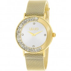 Liu Jo Watch Woman Only Time Dancing Slim Collection Gold/Silver