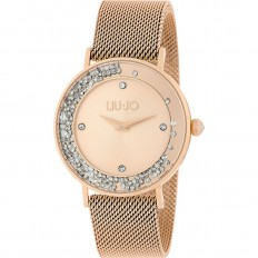 Liu Jo Watch Woman Only Time Dancing Slim Collection Rosegold