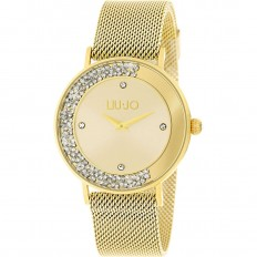 Liu Jo Watch Woman Only Time Dancing Slim Collection Gold