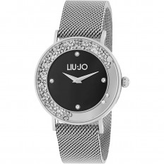 Liu Jo Watch Woman Only Time Dancing Slim Collection Silver/Black