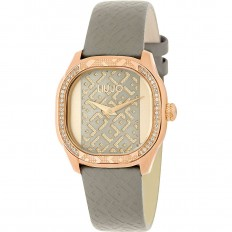 Liu Jo Watch Woman Only Time Trama Collection Grey