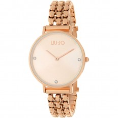 Liu Jo Watch Woman Only Time Framework Collection Rosegold