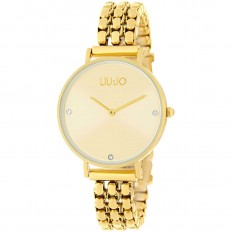 Liu Jo Watch Woman Only Time Framework Collection Gold