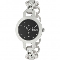 Liu Jo Watch Woman Only Time Rolling Collection Silver/Black