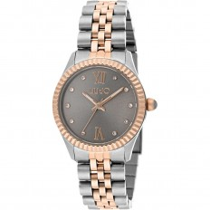 Liu Jo Watch Woman Only Time Tiny Collection Rosegold/Grey