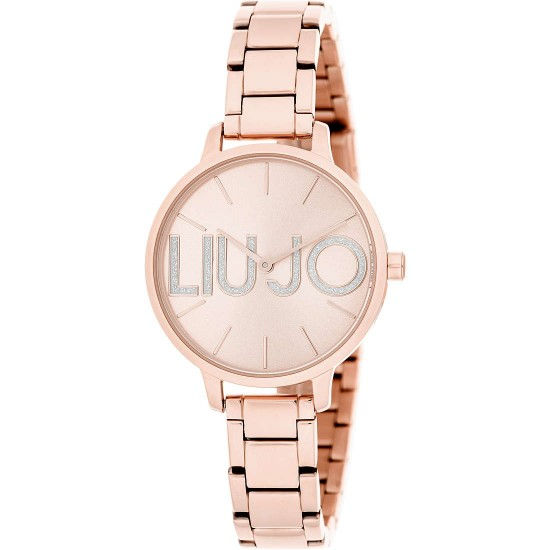 b931dded09b96 Liu Jo Watch Woman Only Time Couple Collection Rosegold