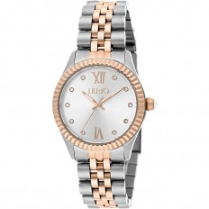 Liu Jo Watch Woman Only Time Tiny Collection Silver/Rosegold