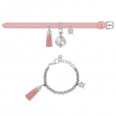 Furla Watch Woman Only Time Stacy Collection Pink