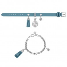 Furla Watch Woman Only Time Stacy Collection Blue