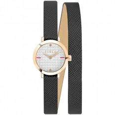 Furla Watch Woman Only Time Vittoria Collection Black