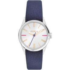 Furla Watch Woman Only Time Eva Collection Blue 35mm