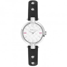 Furla Watch Woman Only Time Linda Collection Black
