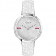 Furla Watch Woman Only Time My Piper Collection White