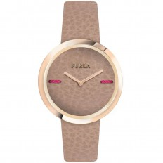 Furla Watch Woman Only Time My Piper Collection Brown