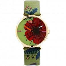 Furla Watch Woman Only Time Giada Collection Flower