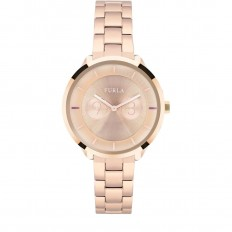 Furla Watch Woman Only Time Metropolis Collection Steel Rosegold