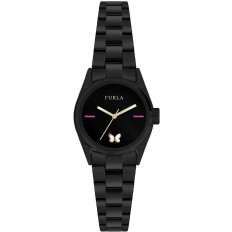 Furla Watch Woman Only Time Eva Collection Black