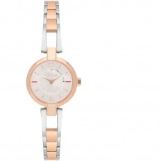 Furla Watch Woman Only Time Linda Collection Silver/Rosegold