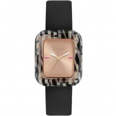 Furla Watch Woman Only Time Elisir Collection Black