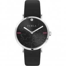 Furla Watch Woman Only Time Giada Butterfly Collection Black
