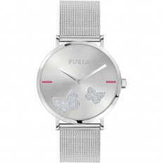 Furla Watch Woman Only Time Giada Butterfly Collection Milanese