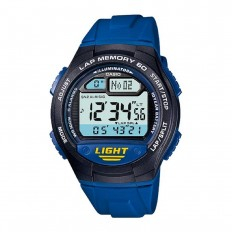 Casio Orologio Unisex Digitale Lap 60 Blue