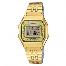 Casio Orologio Donna Digitale Vintage Golden Flower
