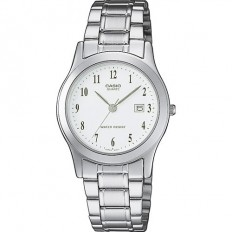 Casio Women's Watch Only Time Casio Collection White Silver