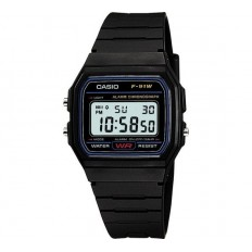 Casio Watch Unisex Digital Vintage Black