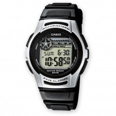 Casio Orologio Unisex Digitale Black/Silver