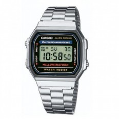 Casio Orologio Unisex Digitale Silver/Black