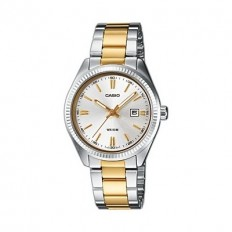 Casio Women's Watch Only Time Enticer Collection Bicolor